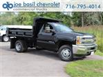2019 Silverado 3500 Regular Cab DRW 4x4,  Air-Flo Dump Body #19C10T - photo 1