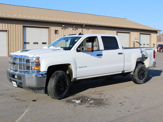2019 Silverado 3500 Crew Cab 4x4,  Pickup #19C122T - photo 3