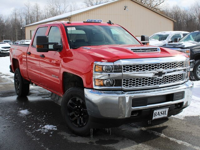 2019 Silverado 3500 Crew Cab 4x4,  Pickup #19C128T - photo 10