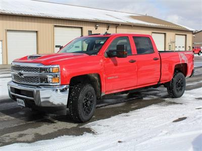 2019 Silverado 3500 Crew Cab 4x4,  Pickup #19C128T - photo 3
