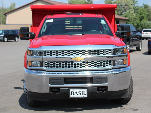 2019 Silverado 3500 Regular Cab DRW 4x4,  Air-Flo Dump Body #19C12T - photo 5