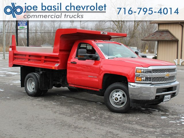 2019 Silverado 3500 Regular Cab DRW 4x4,  Rugby Dump Body #19C158TD - photo 1