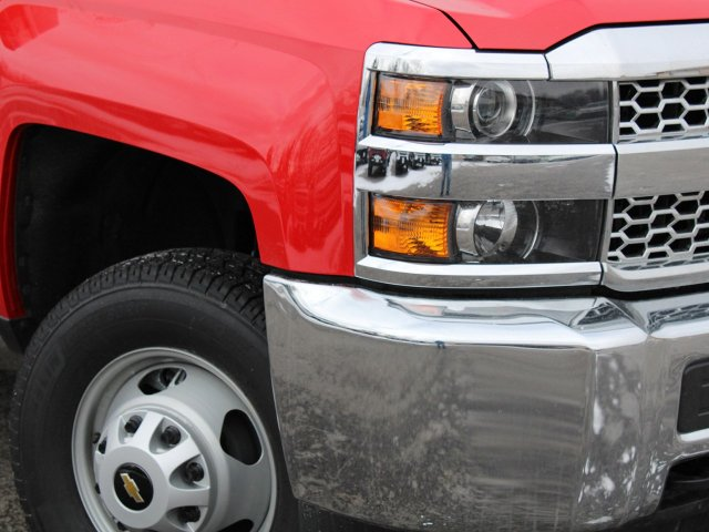2019 Silverado 3500 Regular Cab DRW 4x4,  Rugby Dump Body #19C158TD - photo 12