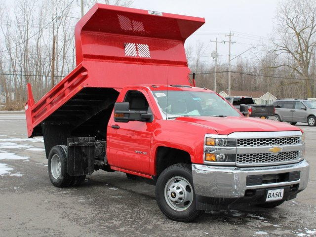 2019 Silverado 3500 Regular Cab DRW 4x4,  Rugby Dump Body #19C158TD - photo 14