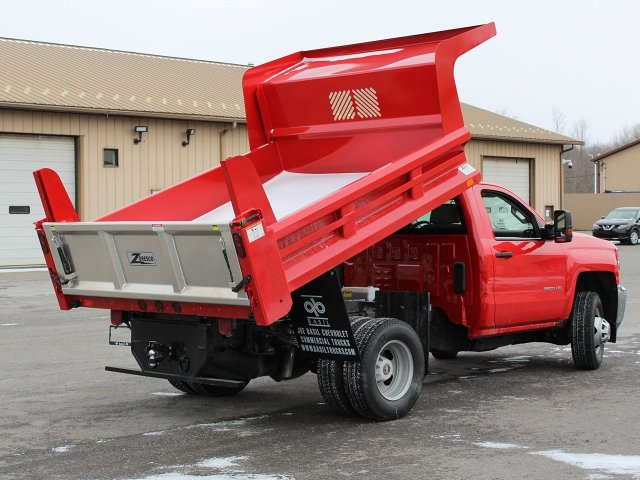 2019 Silverado 3500 Regular Cab DRW 4x4,  Rugby Dump Body #19C158TD - photo 16
