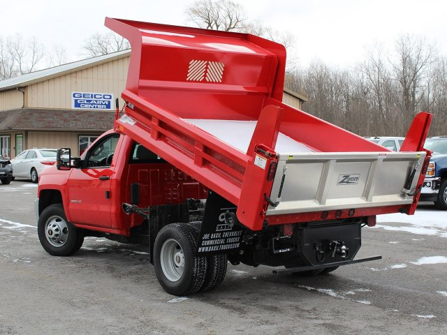 2019 Silverado 3500 Regular Cab DRW 4x4,  Rugby Dump Body #19C158TD - photo 17