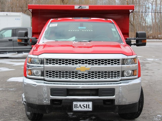 2019 Silverado 3500 Regular Cab DRW 4x4,  Rugby Dump Body #19C158TD - photo 5