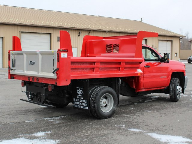 2019 Silverado 3500 Regular Cab DRW 4x4,  Rugby Dump Body #19C158TD - photo 2