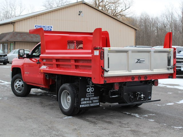 2019 Silverado 3500 Regular Cab DRW 4x4,  Rugby Dump Body #19C158TD - photo 8