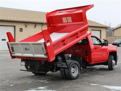 2019 Silverado 3500 Regular Cab DRW 4x4,  Dump Body #19C158TD - photo 16