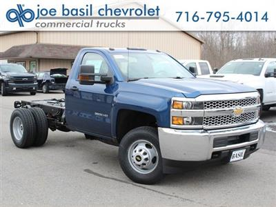2019 Silverado 3500 Regular Cab DRW 4x4,  Cab Chassis #19C167T - photo 1