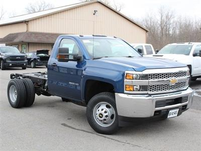 2019 Silverado 3500 Regular Cab DRW 4x4,  Cab Chassis #19C167T - photo 25
