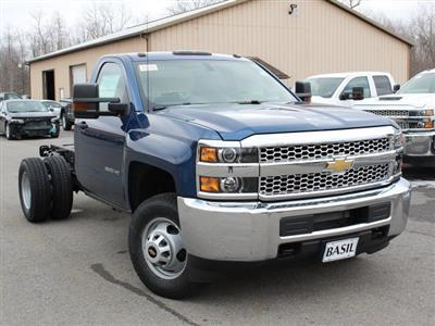 2019 Silverado 3500 Regular Cab DRW 4x4,  Cab Chassis #19C167T - photo 7