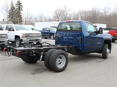2019 Silverado 3500 Regular Cab DRW 4x4,  Cab Chassis #19C167T - photo 2