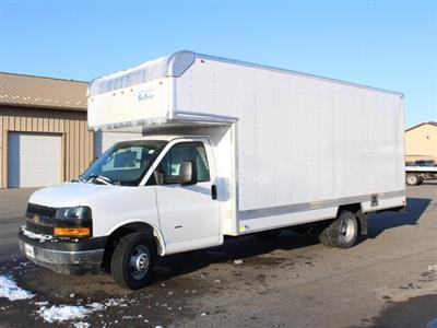 2019 Express 3500 4x2,  Bay Bridge Sheet and Post Cutaway Van #19C168T - photo 3
