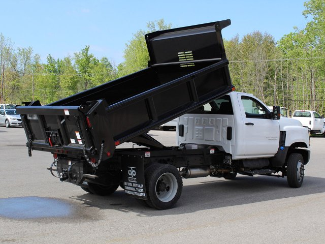 2019 Silverado Medium Duty Regular Cab 4x4,  Air-Flo Dump Body #19C169T - photo 5