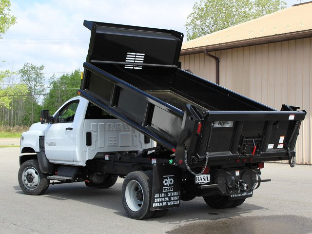 2019 Silverado Medium Duty Regular Cab 4x4,  Air-Flo Dump Body #19C169T - photo 8
