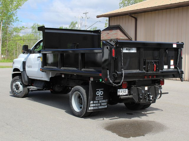 2019 Silverado Medium Duty Regular Cab 4x4,  Air-Flo Dump Body #19C169T - photo 12