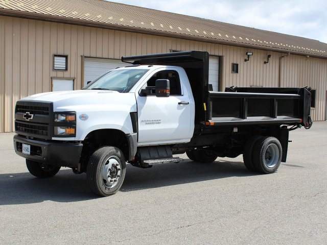 2019 Silverado Medium Duty Regular Cab 4x4,  Air-Flo Dump Body #19C169T - photo 6