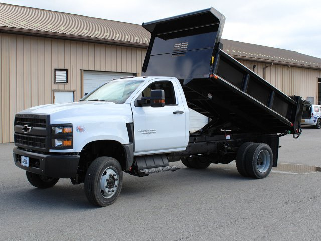2019 Silverado Medium Duty Regular Cab 4x4,  Air-Flo Dump Body #19C169T - photo 30