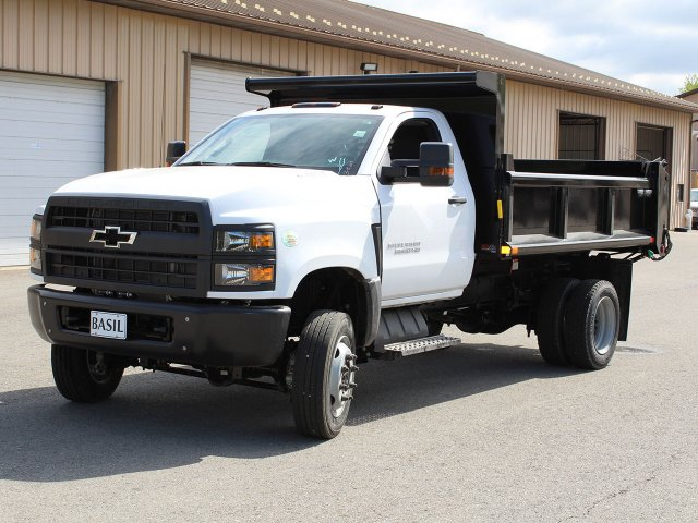 2019 Silverado Medium Duty Regular Cab 4x4,  Air-Flo Dump Body #19C169T - photo 9