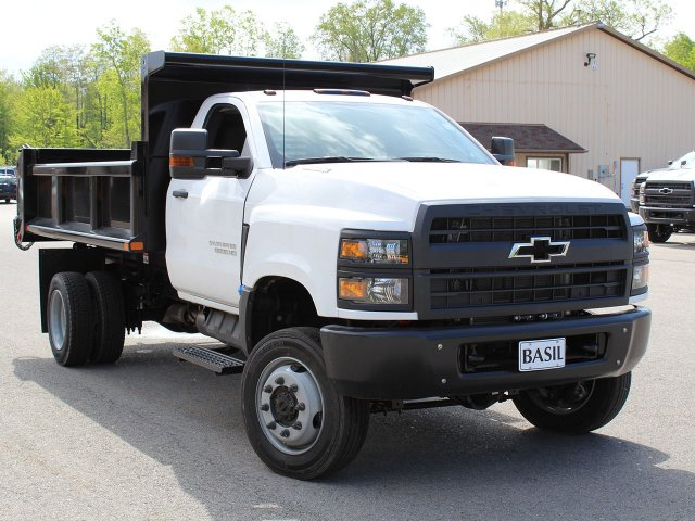 2019 Silverado Medium Duty Regular Cab 4x4,  Air-Flo Dump Body #19C169T - photo 10