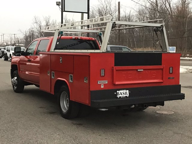 2019 Silverado 3500 Crew Cab DRW 4x4,  Reading Service Body #19C191T - photo 7