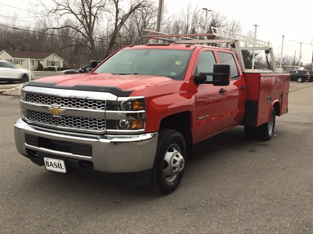 2019 Silverado 3500 Crew Cab DRW 4x4,  Reading Service Body #19C191T - photo 26