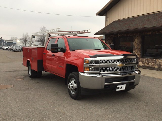 2019 Silverado 3500 Crew Cab DRW 4x4,  Reading Service Body #19C191T - photo 27