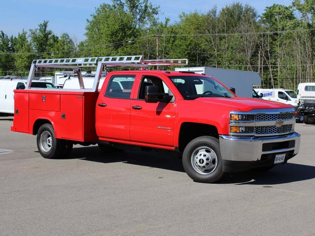 2019 Silverado 3500 Crew Cab DRW 4x4,  Reading Service Body #19C191T - photo 33
