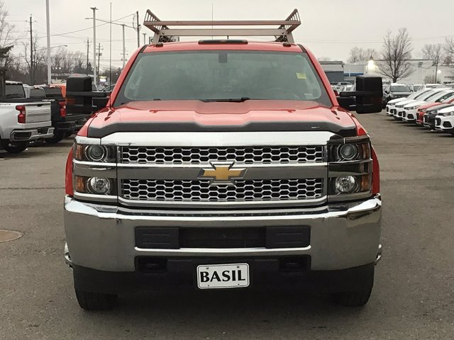 2019 Silverado 3500 Crew Cab DRW 4x4,  Reading Service Body #19C191T - photo 9