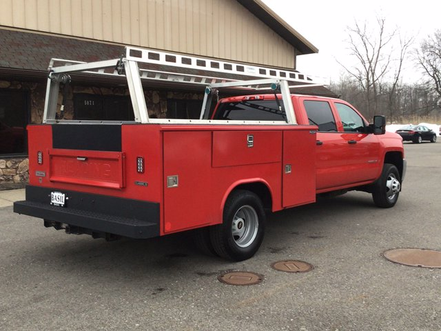 2019 Silverado 3500 Crew Cab DRW 4x4,  Reading Service Body #19C191T - photo 11