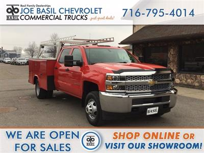 2019 Silverado 3500 Crew Cab DRW 4x4,  Reading Classic II Steel Service Body #19C191T - photo 1