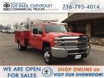 2019 Silverado 3500 Crew Cab DRW 4x4,  Reading Service Body #19C191T - photo 1