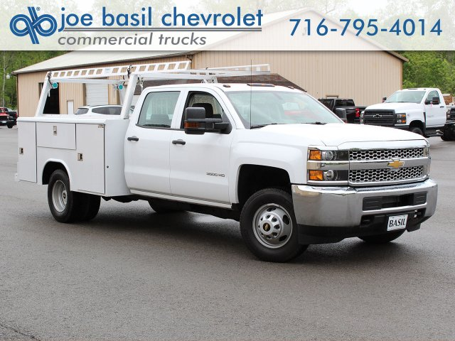 2019 Silverado 3500 Crew Cab DRW 4x4,  Reading Service Body #19C193T - photo 1