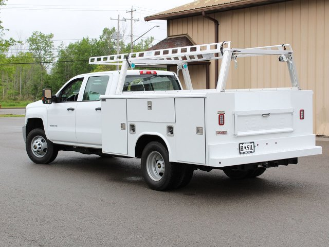 2019 Silverado 3500 Crew Cab DRW 4x4,  Reading Service Body #19C193T - photo 12