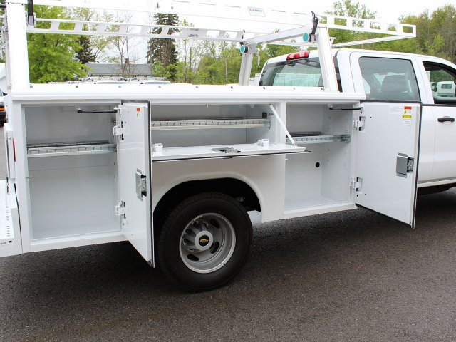 2019 Silverado 3500 Crew Cab DRW 4x4,  Reading Service Body #19C193T - photo 28