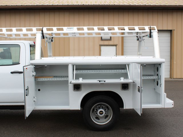2019 Silverado 3500 Crew Cab DRW 4x4,  Reading Service Body #19C193T - photo 29