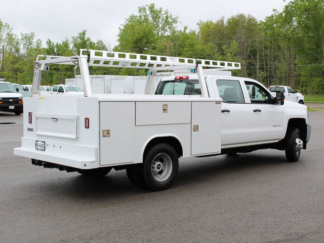2019 Silverado 3500 Crew Cab DRW 4x4,  Reading Service Body #19C193T - photo 2
