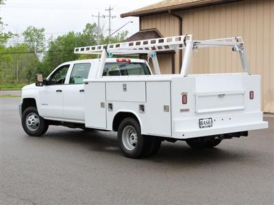 2019 Silverado 3500 Crew Cab DRW 4x4,  Reading Classic II Steel Service Body #19C193T - photo 12