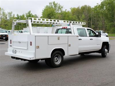 2019 Silverado 3500 Crew Cab DRW 4x4,  Reading Classic II Steel Service Body #19C193T - photo 2