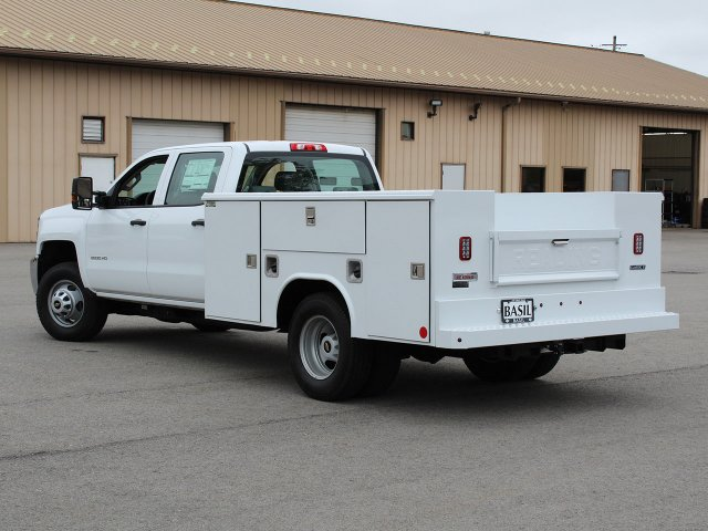 2019 Silverado 3500 Crew Cab DRW 4x4,  Reading Service Body #19C194T - photo 12