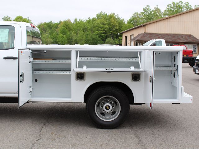 2019 Silverado 3500 Crew Cab DRW 4x4,  Reading Service Body #19C194T - photo 16