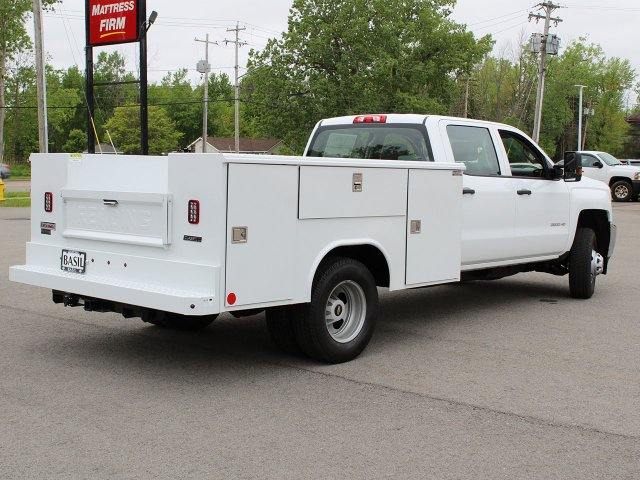 2019 Silverado 3500 Crew Cab DRW 4x4,  Reading Service Body #19C194T - photo 2