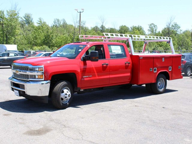 2019 Silverado 3500 Crew Cab DRW 4x4,  Reading Service Body #19C195T - photo 1