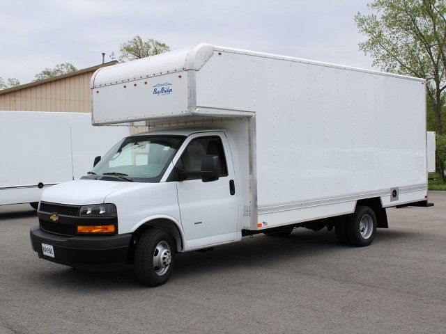2019 Express 3500 4x2,  Bay Bridge Sheet and Post Cutaway Van #19C201T - photo 3