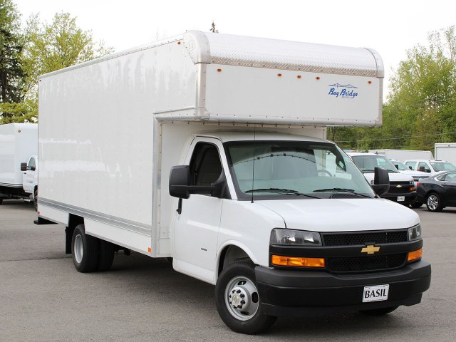 2019 Express 3500 4x2,  Bay Bridge Sheet and Post Cutaway Van #19C203T - photo 6