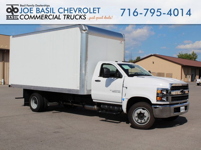 2019 Silverado Medium Duty Regular Cab DRW 4x2,  Supreme Dry Freight #19C205T - photo 1