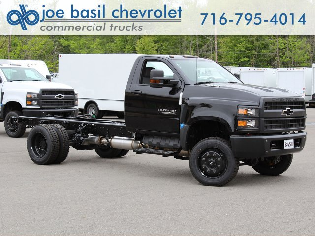 2019 Silverado Medium Duty Regular Cab 4x4,  Cab Chassis #19C206T - photo 1