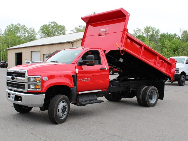 2019 Silverado Medium Duty Regular Cab 4x4,  Air-Flo Dump Body #19C208T - photo 13